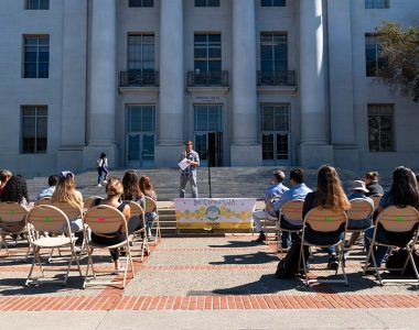 UC Berkeley recognized as bee-friendly campus by Bee Campus USA