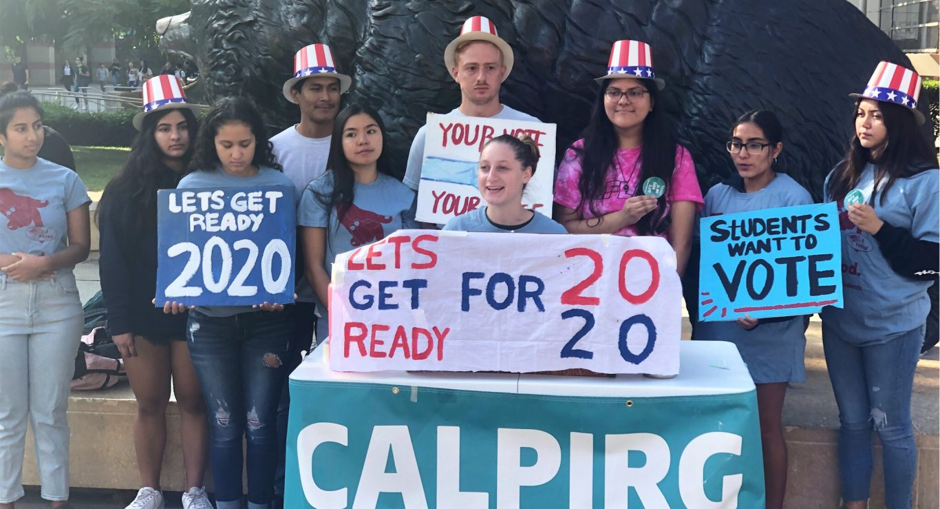 UCLA students release NSLVE data on 300% increase in student voter turnout at UCLA.